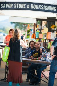 Celebrity Book Signings at Sunset SAVOR the Central Coast-Chef Holland (c) Brittany App