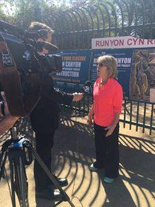 Runyon Canyon Coverage  - Margot