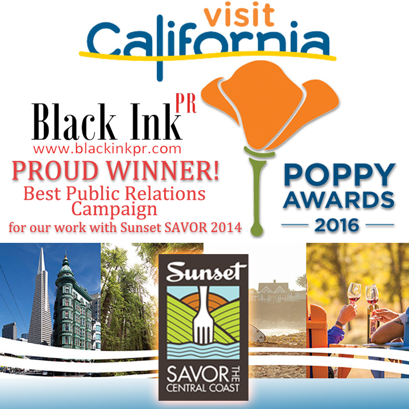 Black Ink PR Wins Prestigious Poppy Award for Best Public Relations Campaign!