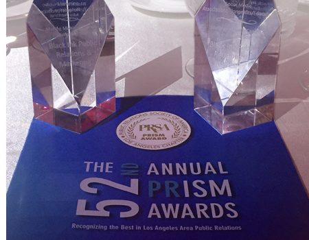 Black Ink PR Wins Two PRism Awards at PRSA-LA 52nd Annual Awards