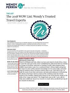 2018-01-24 Wendy Perrin WOW-PremierTours
