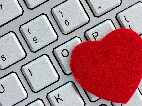 Make a heart with keyboard