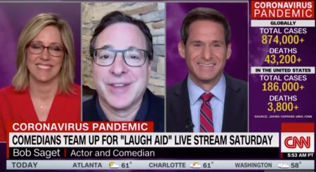 CNN New Day – Comedy Gives Back Laugh Aid w Bob Saget
