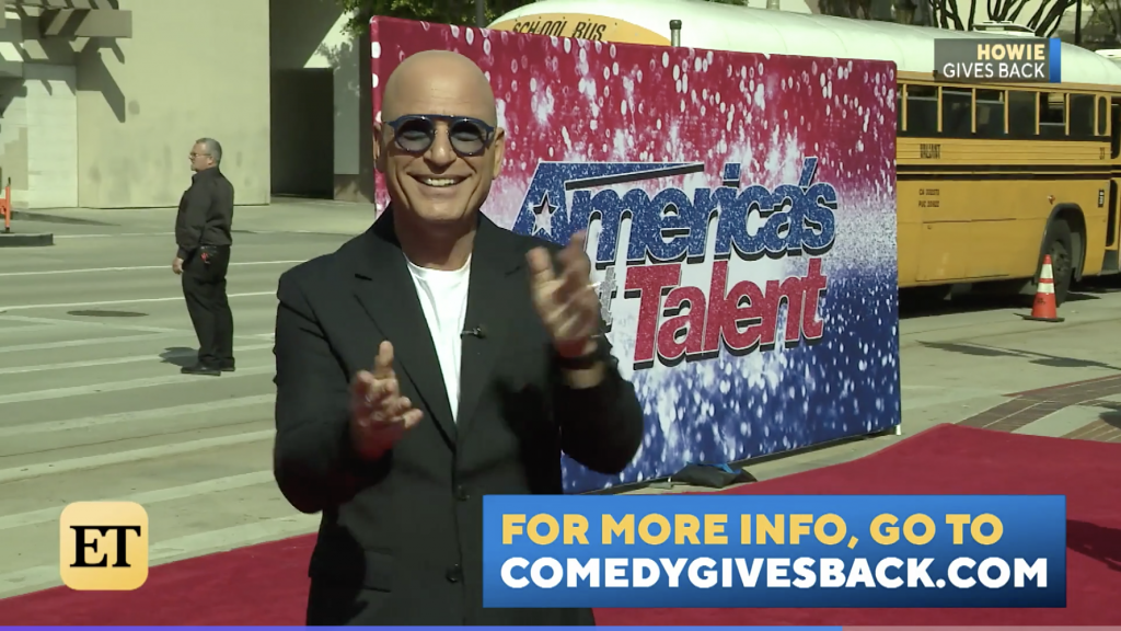 ET Comedy Gives Back Laugh Aid w Howie Mandel