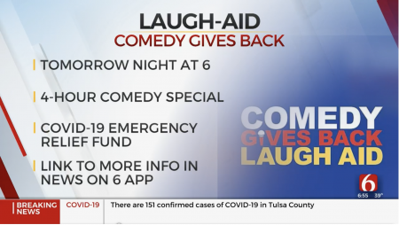 News on 6 – Comedy Gives Back Laugh Aid